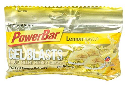PowerBar Gel Blasts レモン 12袋入り PBG1P