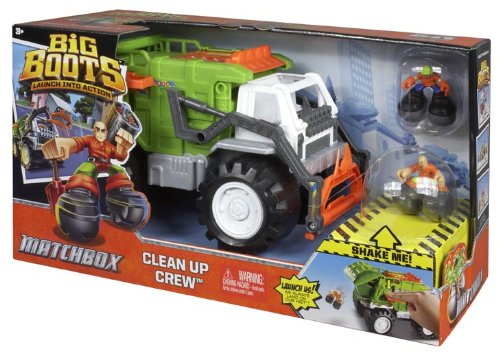Matchbox Big Boots Clean Up Crew Vehicle front-323167
