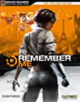 Remember Me Official Strategy Guide