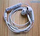 LWZP(TM) White Strong Compatibility High Quality Earphone In-ear Headphone with Microphone & Volume Control for I Phone I Pad I Pod High Quality 3.5 Mm Plug for Mp3 Player(White)1