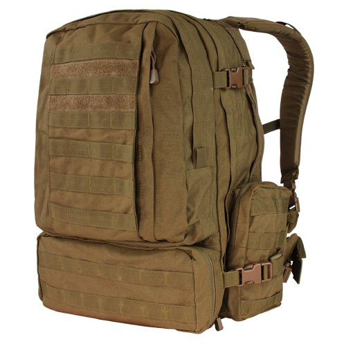 Condor Outdoor Products 3 Day Assault Pack, Coyote Brown (Condor Outdoor 3 Day Assault Pack compare prices)