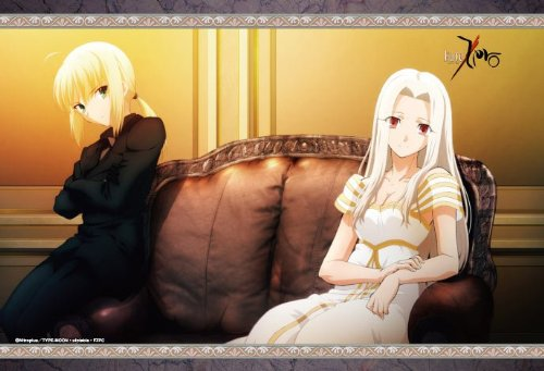 Fate/Zero ピローケース セイバー&アイリ