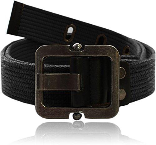 Eurosport Authentic Canvas Tactical Belt - WB2825 - Black - Small/Medium