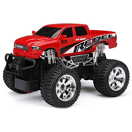 1:24 R/C Full Function Ram Rebel for Girls and Boys 4-10 Years (Shark Model Kit compare prices)