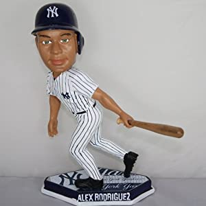MLB New York Yankees Rodriguez A. #13 Home Base Plate Bobble Head by Forever Collectibles