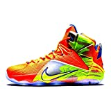 Nike Lebron 12 (6 Meridians) Hypr Crmsn/Vlt-Mtlc Cl Gry-Hyp (10)