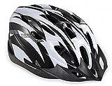 【ノーブランド品】クールスタイル! 超軽量 高剛性! 自転車用 サイクリング ヘルメット (ホワイト&ブラック)