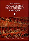 Vocabulaire de la musique baroque