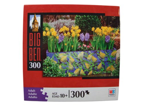 Big Ben 300 Piece Jigsaw Puzzle: Narcissus & Hyacinth Flower Box