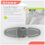 Diono Lock Tite Harness Chest Clip, Grey