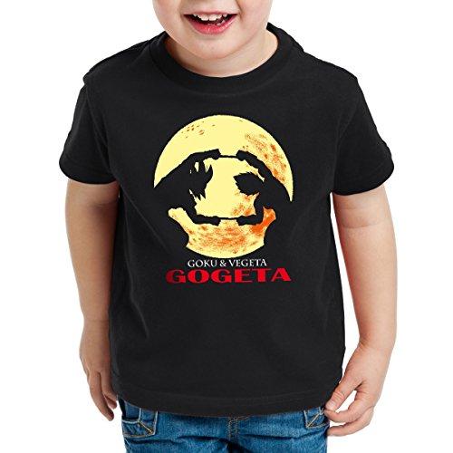 style3-GOGETA-Goku-and-Vegeta-Camiseta-para-Nios-T-Shirt-Talla164