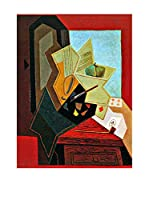 Especial Arte Lienzo The Window of the painter - Juan Gris Multicolor