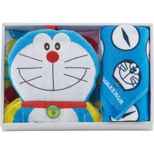 Dora Doraemon guest dress towel set blue
