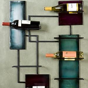 Southern Enterprises Wine Storage Wall Sculpture