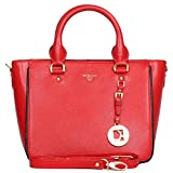 Da Milano Tote Bag ( CORAL RED)