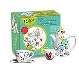 Bojeux Ketto Porcelain Creation Tea Set - Cat