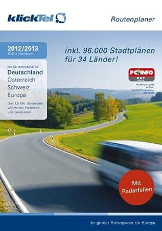 klickTel Routenplaner 2012/2013