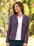 Bright Boucle Tweed Jacket / Bright Boucle Tweed Jacket