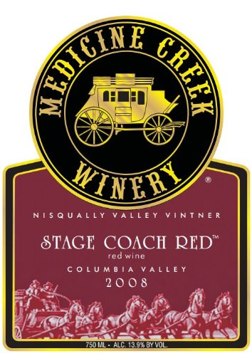 "2008 Medicine Creek ""Stage Coach Red"" Blend 750 Ml"
