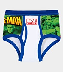 Fruit of the Loom Boys' 5pk Marvel Heroes Brief