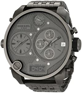 Diesel Men's DZ7247 SBA Gunmetal Watch