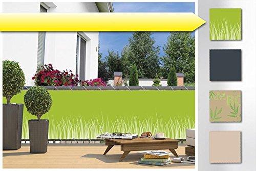 balkon sichtschutz windschutz balkonverkleidung balkonschutz verkleidung blende. Black Bedroom Furniture Sets. Home Design Ideas