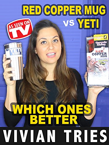 Review: Vivian Tries Yeti vs Red Copper Mug