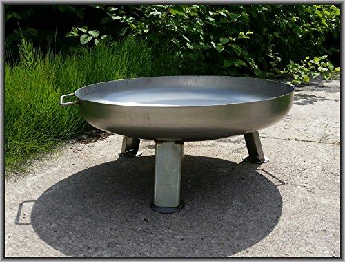 Edelstahl Feuerschale (Edelstahl Feuerschale Ø 80 cm)