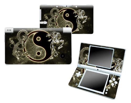 Bundle Monster Nintendo Ndsi Dsi Nds Ds i Vinyl Game Skin Case Art Decal Cover Sticker Protector Accessories - Ying Yang Dragon Tiger