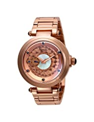 Freelook Women's HA1999RGM-1 10th Anniversary All Rose Gold Plated Stainless Steel Case/Bracelet Watch