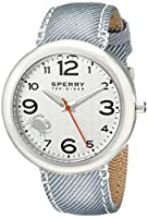 Sperry Top-Sider Women's 10008952 Sandbar Analog Display Japanese Quartz Black Watch by Sperry Top-Sider Watches MFG Code