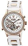 [ゾンネ]SONNE 腕時計 SONNE×HAORI PRODUCED ホワイト文字盤 自動巻 裏蓋スケルトン ステンレス(PGPVD) H003PGZWH メンズ