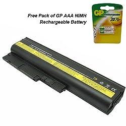 "IBM Thinkpad T61 (15"") Laptop Battery - Premium Powerwarehouse Battery 6 Cell"
