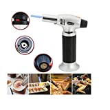 Windproof Creme Brulee Culinary Butane Refillable cook Torch Jet Flame Lighter