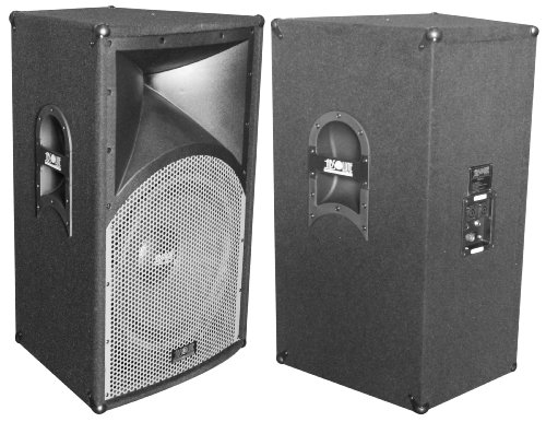 Absolute Pros115 Single 15-Inch Professional Series 2500 Watts P.M.P.O Speaker
