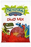 The Natural Confectionery Company Jelly Dinosaurs Bag 200 g (Pack of 6)