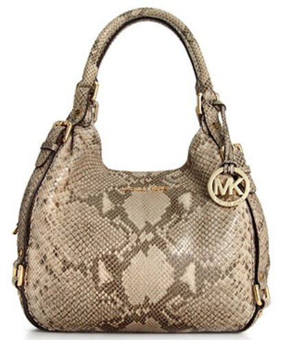 MICHAEL Michael Kors Handbag, Bedford Medium Shoulder Tote ANGORA