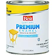 Rust Oleum 2209 Do it Best Premium Latex Enamel-SUN YELLOW LATEX ENAMEL