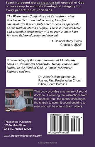 Doctrine of Sound Words: Summary of Christian Theology