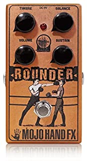 Mojo Hand Fx Rounder バズアラウンドを今の時代に合わせて進化させたファズペダル モジョハンドエフェクツ ラウンダー 国内正規品