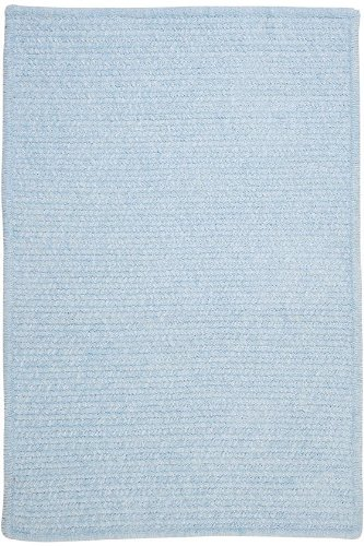 Allusion Area Area Rug, 2'x12', SKY BLUE