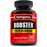 Testosterone Booster - 90 Pills - Natural Supplement Contains Tribulus, Horny Goat Weed & More for Muscle Growth - Boosts Testo Levels, Enhances Stamina, Strength & Libido, Burns Fat*
