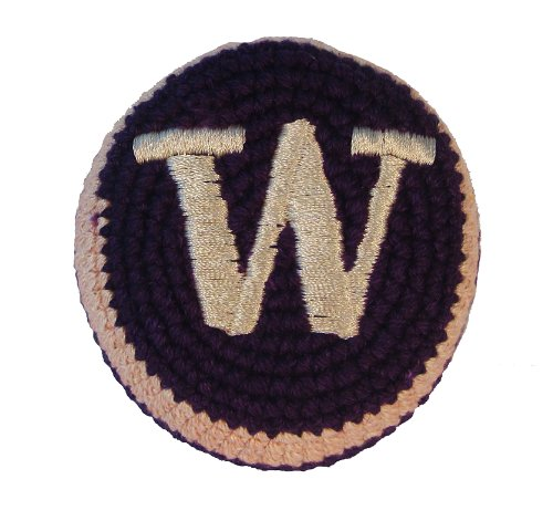 Hacky Sack - College Logo WASHINGTON Design