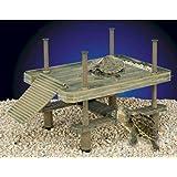 Penn Plax Decorative Turtle Pier Floating/Basking Platform, Large