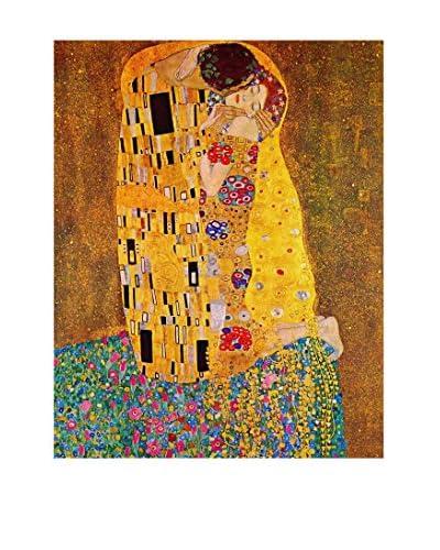 LegendArte Panel Decorativo Sobre Lona Il Bacio di Gustav Klimt