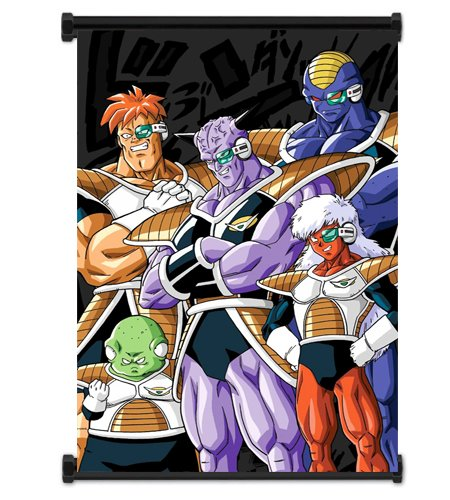 Dragon Ball Z Anime Ginyu Force Fabric Wall Scroll Poster (16x23) Inches