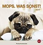 Mops Postkartenkalender - Kalender 2017