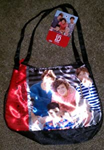 1D One Direction Black Satin Bag Purse Harry Liam Louis Niall Zayn by 1D One Direction