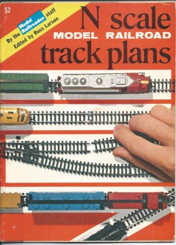 N Scale Model Railroad Track Plans