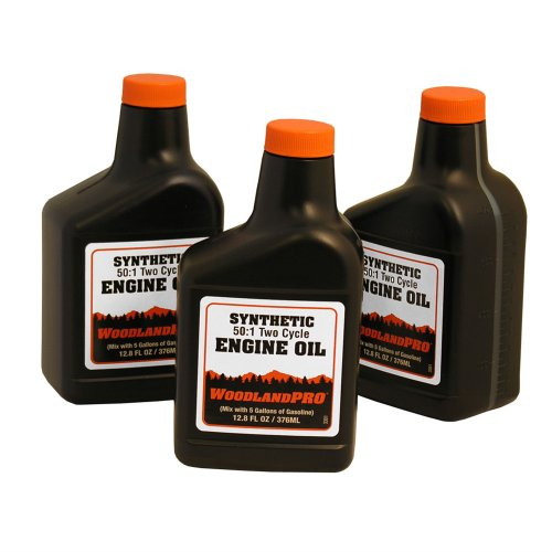 Woodlandpro synthetic 2 cycle engine oil mix 12 8 oz for Case of motor oil prices